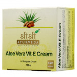 Aloe Vera Vitamin E cream, 100 grams