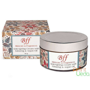 Anti-Ageing Cream with Ginseng and Argana oil BFF Skincare and Fragrances, 50 grams
