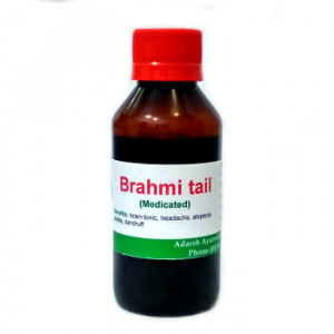 Brahmi tail Adarsh Ayurvedic Pharmacy, 100 ml
