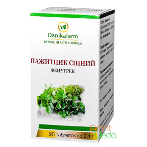 Fenugreek Danikafarm-GreenSet, 90 tablets