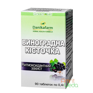 Grape seed Danikafarm-GreenSet, 90 tablets